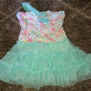 24mths Little Me dress with headband